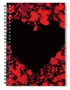 Passionate Love Heart Spiral Notebook