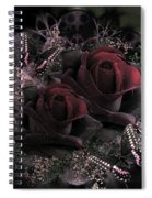 Passionate Roses 02 Spiral Notebook