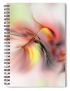 Passions Flame Spiral Notebook