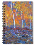 Passions Of Fall Spiral Notebook