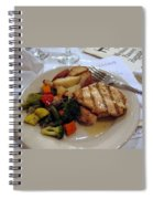 Passover Meal Spiral Notebook