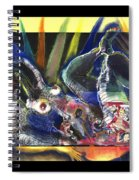 Past And Present Spiral Notebook