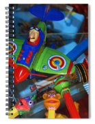 Past Memories Spiral Notebook