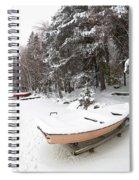 Pastel Boat Spiral Notebook