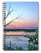 Pastel Clear Lake 3 Spiral Notebook