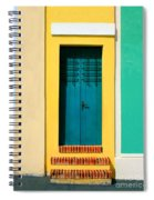 Pastel Doorway Spiral Notebook