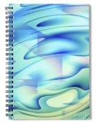 Pastel Flow Spiral Notebook