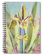 Pastel Iris Spiral Notebook