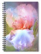 Pastel Iris Pleasure Spiral Notebook