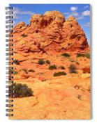 Pastel Petrified Sand Dunes Spiral Notebook