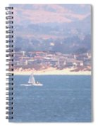 Pastel Sail Spiral Notebook