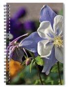 Pastel Spring Flowers Spiral Notebook