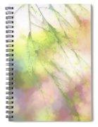 Pastel Spring Whispers Spiral Notebook