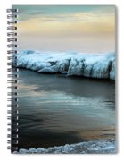 Pastels And Ice Spiral Notebook