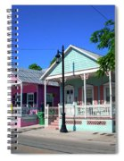 Pastels Of Key West Spiral Notebook