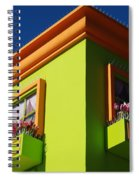 Pastle Corners Spiral Notebook