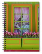 Pastle Windows Spiral Notebook