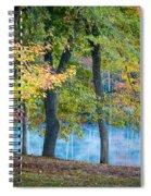 Pastoral River Spiral Notebook