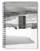 Pastoral Winter Spiral Notebook