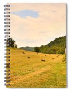 Pastorial Framland In Kentucky Spiral Notebook