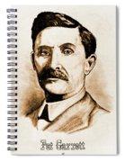 Pat Garrett Spiral Notebook