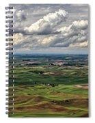 Patchwork Palouse Spiral Notebook