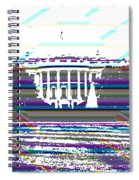 Patchwork White House Spiral Notebook