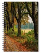 Path Along The Horses Meadow On The Farm Lovedayvale L B Spiral Notebook