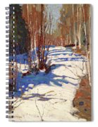 Path Behind Mowat Lodge Spiral Notebook