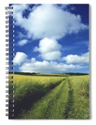 Path In A Countryside Spiral Notebook
