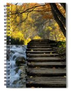 Path In Plitvice Spiral Notebook