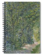 Path In The Woods Paris, May 1887 - July 1887 Vincent Van Gogh 1853  1890 Spiral Notebook