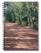 Path Into The Jungle Spiral Notebook
