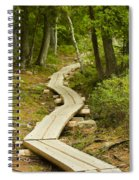 Path Into Unknown Spiral Notebook