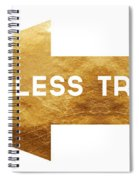 Path Less Traveled-  Art By Linda Woods Spiral Notebook