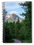 Path Through Nature Spiral Notebook