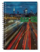Path To And From Nyc Spiral Notebook
