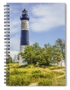 Path To Big Sable Spiral Notebook
