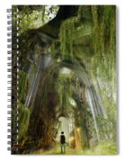 Path To Inner Peace Spiral Notebook