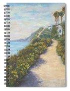 Path To Ritz Bacara  Spiral Notebook