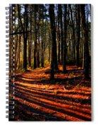 Path To Serenity - Nickerson State Park Spiral Notebook