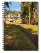 Path To St Cuthbert's Cave Spiral Notebook