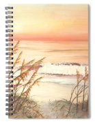 Path To Sunlit Waters Spiral Notebook