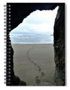 Path To The Ocean Spiral Notebook