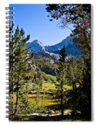 Path To Treasure Lakes Spiral Notebook