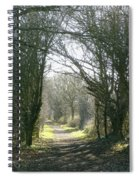 Path To Wherever Spiral Notebook