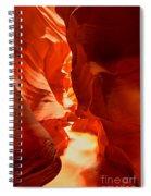 Pathway Through Upper Antelope Spiral Notebook