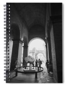 Pathway To History In Rome Spiral Notebook