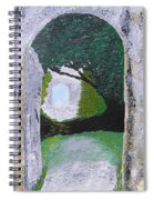 Pathway To Peacefullness Spiral Notebook