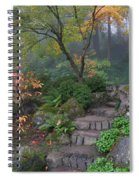 Pathway To Serenity Spiral Notebook